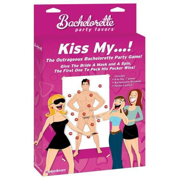 Bachelorette Party Favors Kiss My ...! Game
