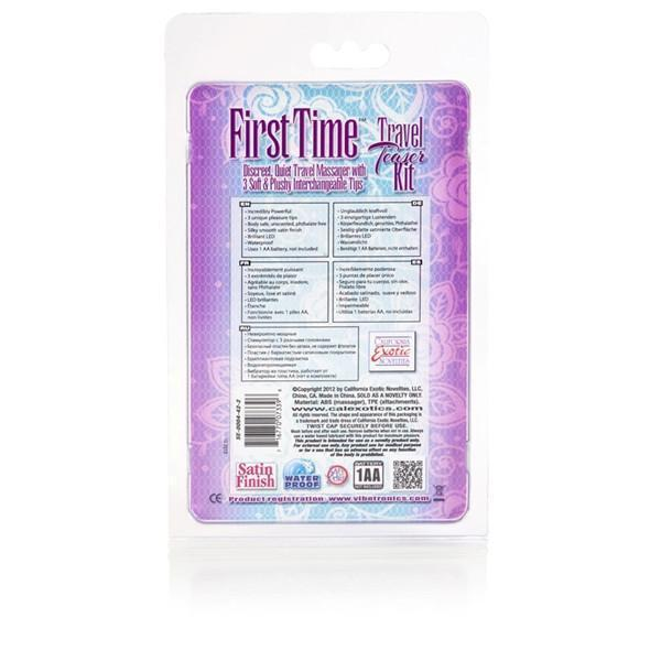First Time Travel Teaser Kit