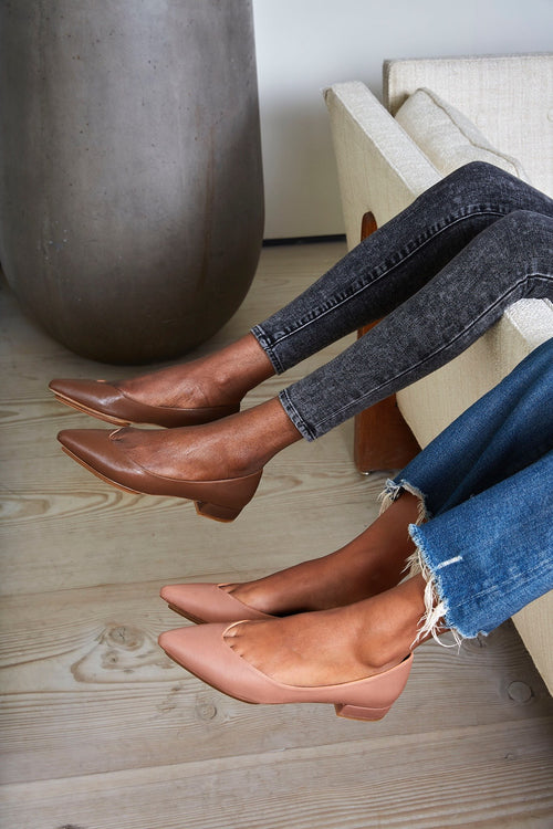 Salone Monet Nude Shoes
