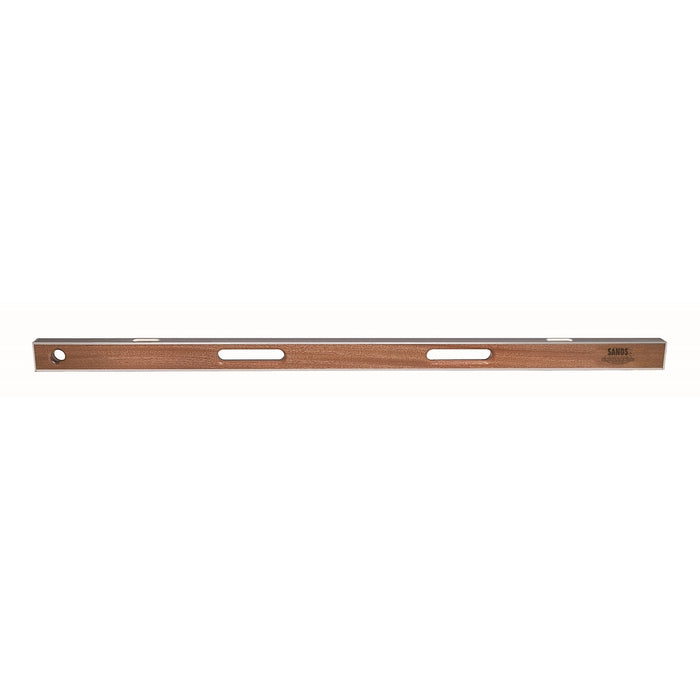 "48"" Professional Asphalt Mahogany I-Beam Level (2 Vials)"