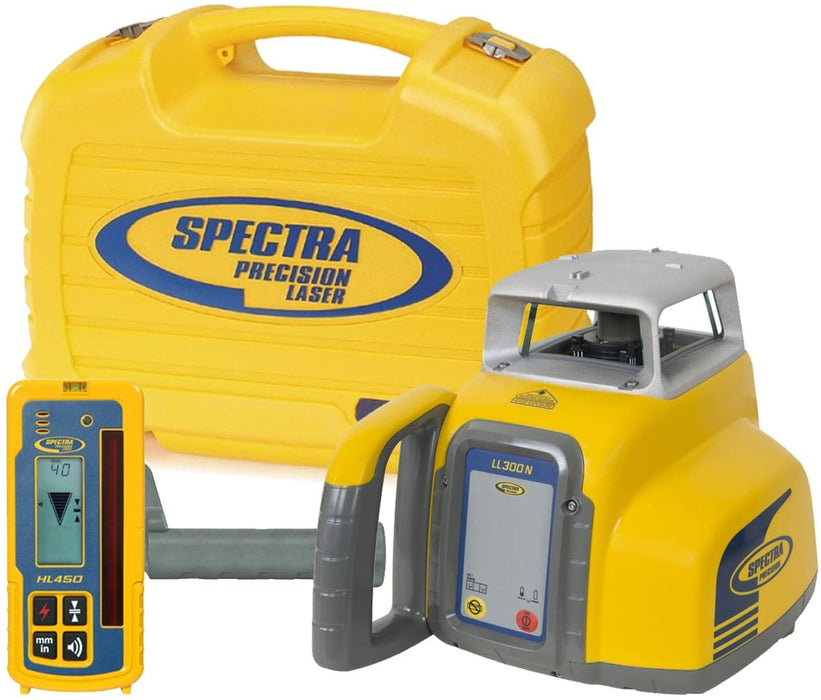 Spectra Precision LL300N Package