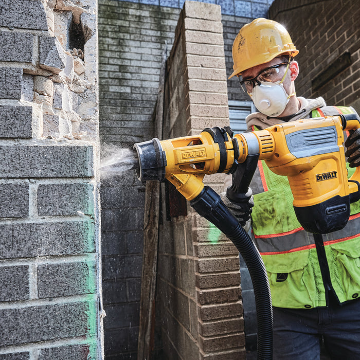 Dewalt® Large Hammer Dust Extraction - Chiseling