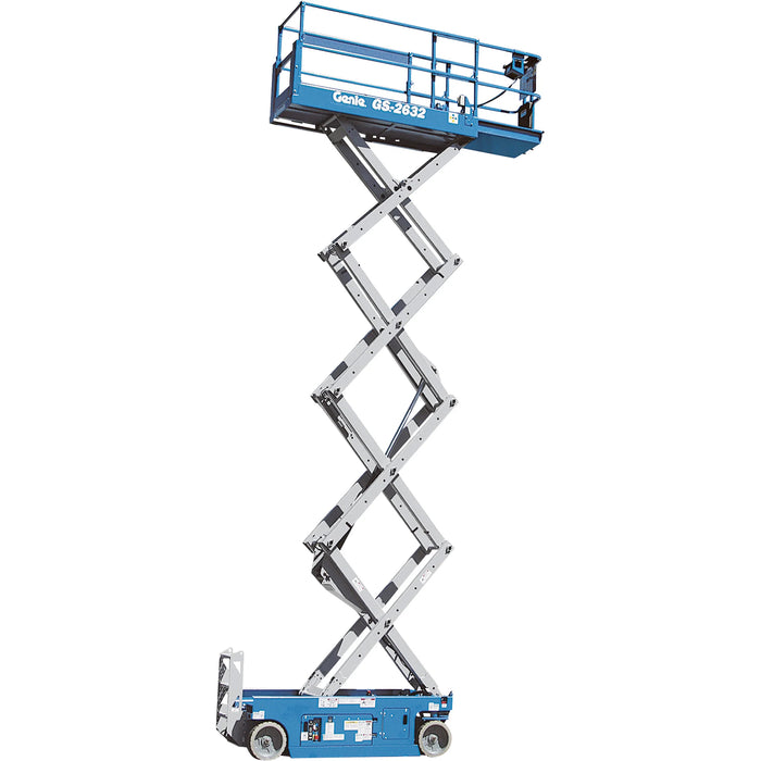 Genie GS-2632 Self-Propelled Scissor Lift, 26', 500lb. Capacity | Rental