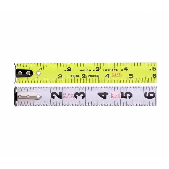 25' Steel SAE Tape Measure