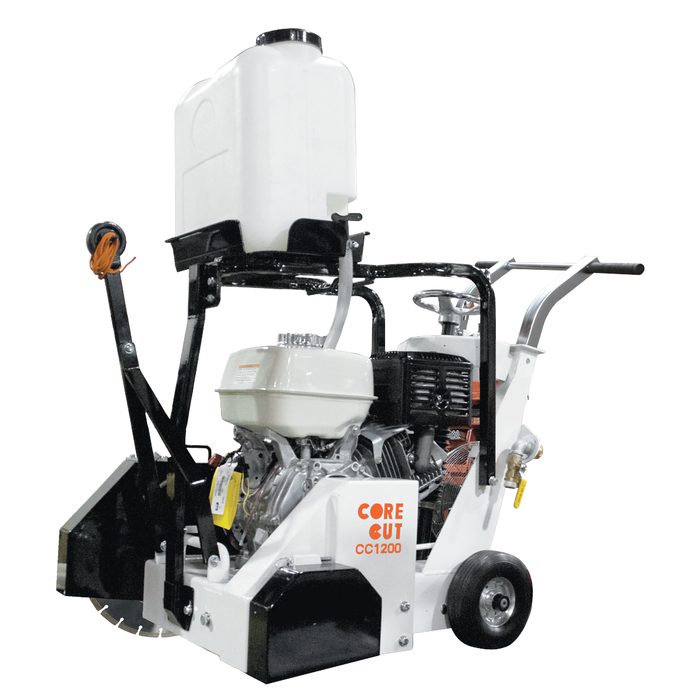 Diamond Products Core Cut CC1200 Small Walk Behind Saw (Gas or Propane) | Rental