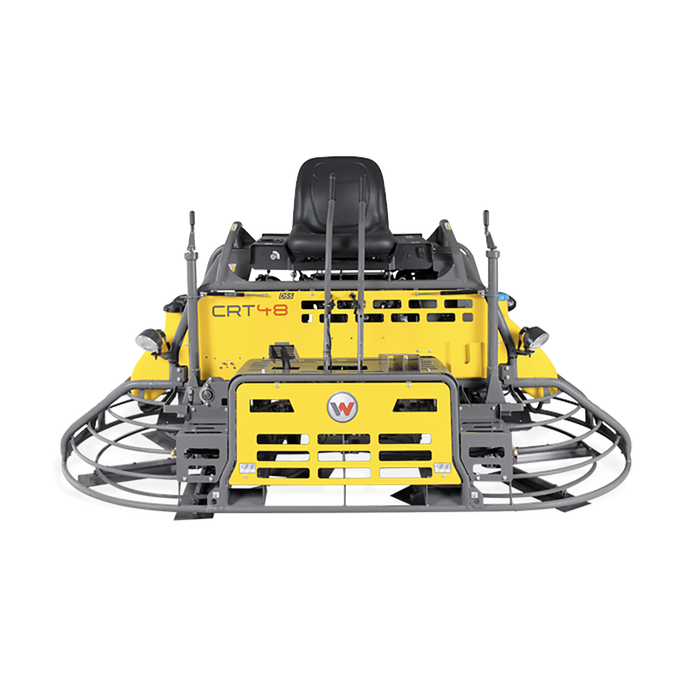 Wacker CRT48 8' Power Steer Trowel | Rental