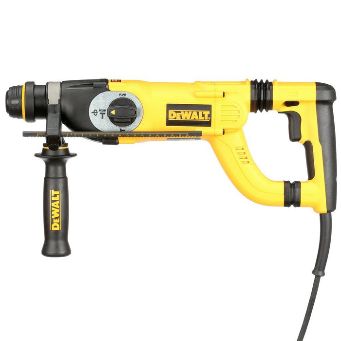 "Dewalt D25223K 8 Amp 1"" Corded SDS-Plus D-Handle Concrete/Masonry Rotary Hammer with SHOCKS 