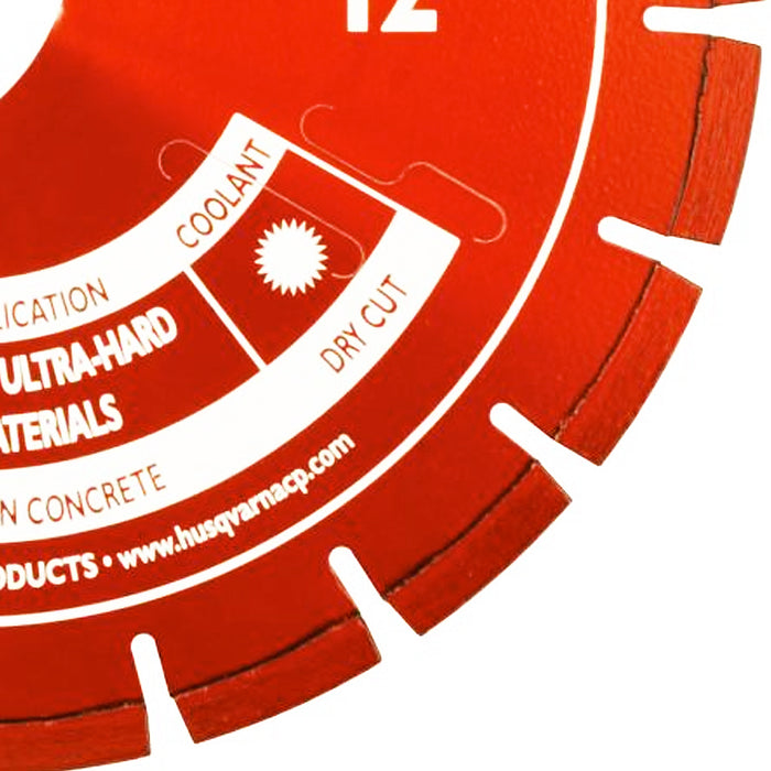 SoffCut Excel 3000 Series | Red Husqvarna Diamond Blade