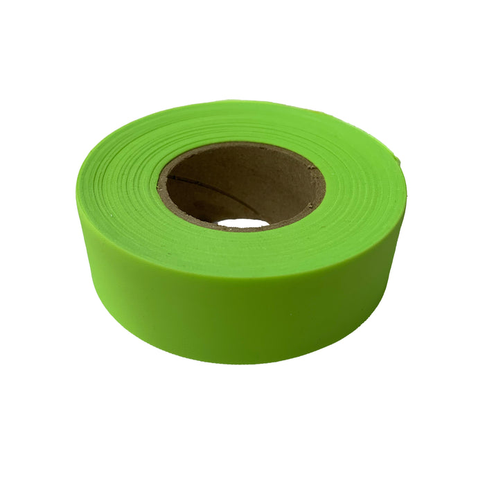 "Fluorescent Lime Flagging Tape (1-3/16"" x 150 ft.)"