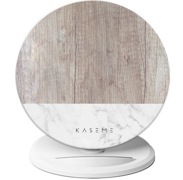 Birch Marble wireless charger