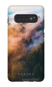 Misty Mountain Phone Case by Simon Timbers