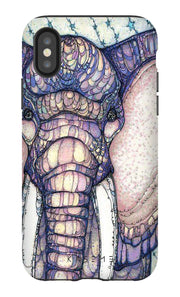 Mosaic Elephant Phone Case