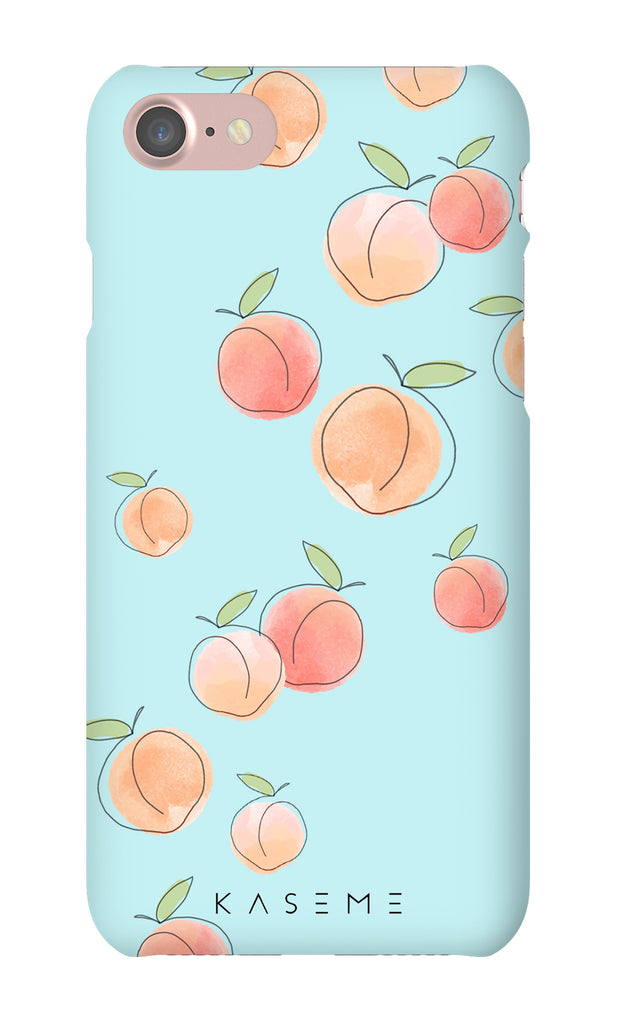 Peachy Blue