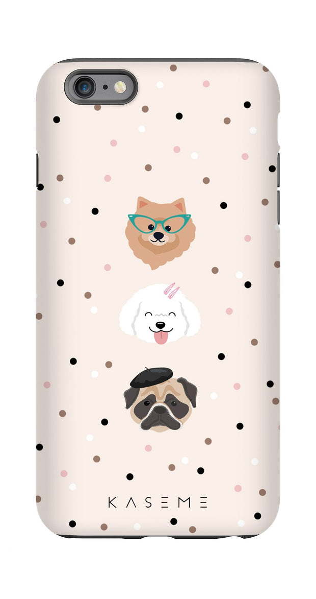 Dog lover phone case by Marina Bastarache x SPCA