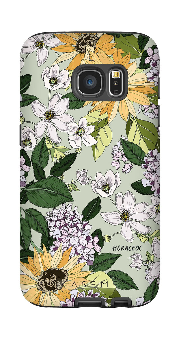 Sunflower phone case by Hannah Grace