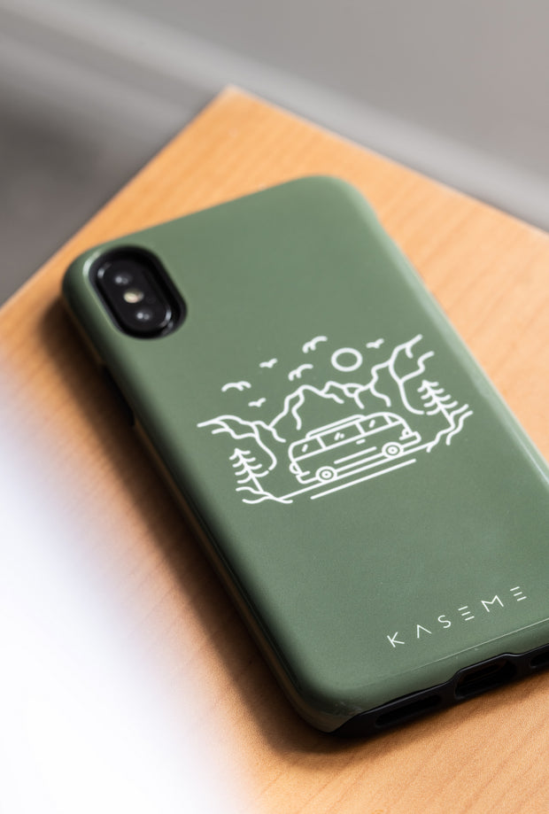Camp Life phone case