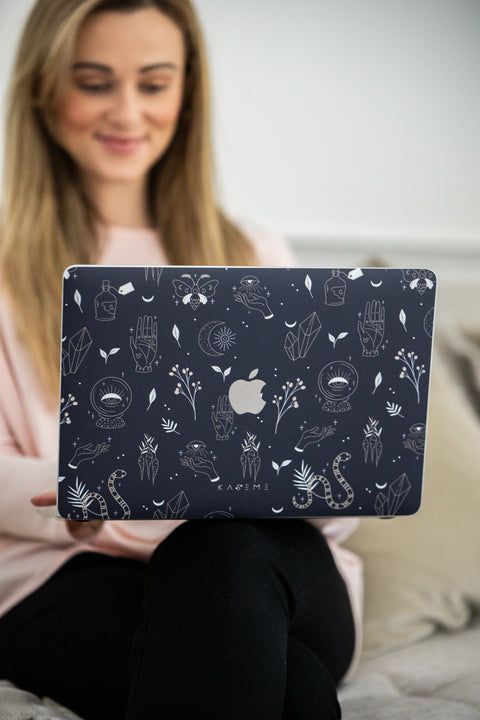 Crystal MacBook skin