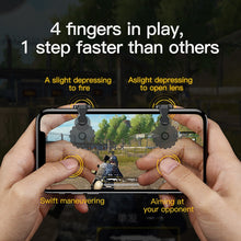 Load image into Gallery viewer, PUBG Joypad Trigger Fire Button Controller For IPhone And Android Phone