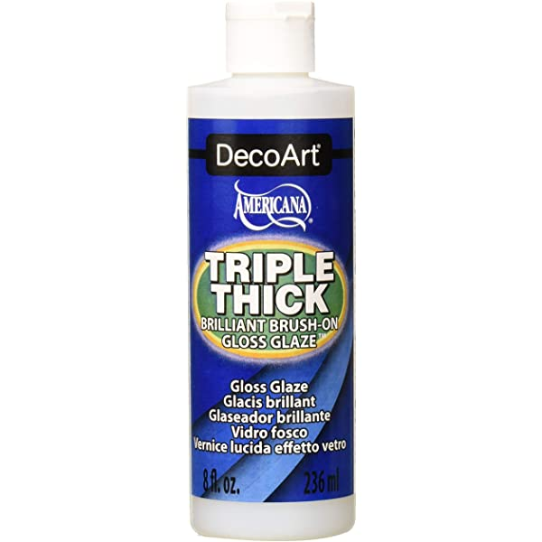 Triple Thick Gloss Glaze by DecoArt