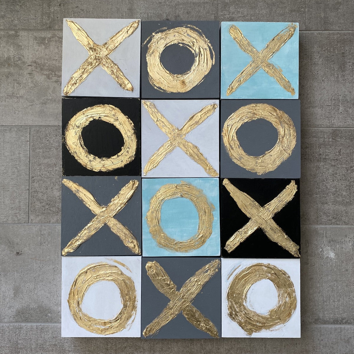 "Art - "" X's and O's"" Series"
