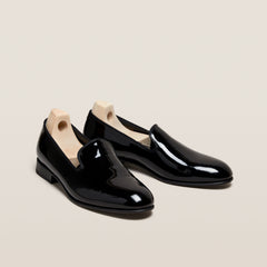 Muskö Black Patent Leather