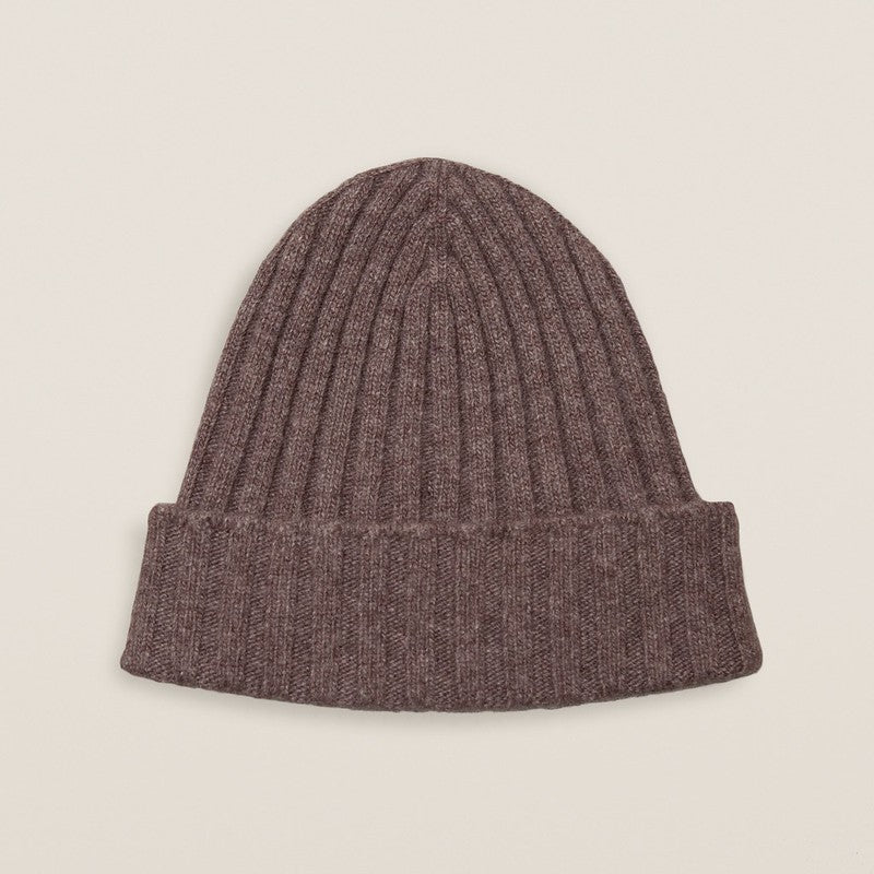 Dark Brown Cashmere Hat