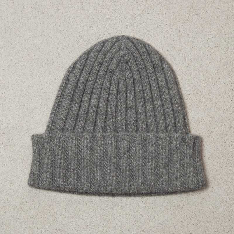 Dark Grey Cashmere Hat
