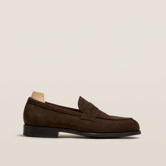 Stenhammar Dark Brown Suede