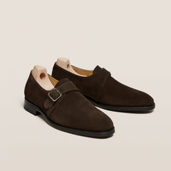 Vadstena Dark Brown Suede
