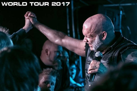 CONCERT TICKET 2017: 08-25-17 - BLAZE BAYLEY of IRON MAIDEN w/ tba