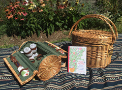 picnic baskets, picnic, recipes, blankets, tarrytown, pretty funny vintage