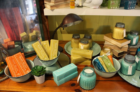barr-co soap company, candles, soaps, lotions, mother's day, gifts, tarrytown, pretty funny vintage, find great gifts at pretty funny vintage in tarrytown