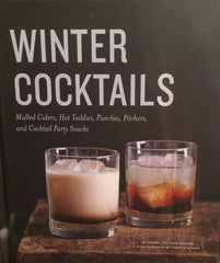 winter cocktails book, pretty funny vintage, tarrytown