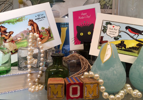 cards, mother's day, pretty funny vintage, tarrytown, sleepy hollow