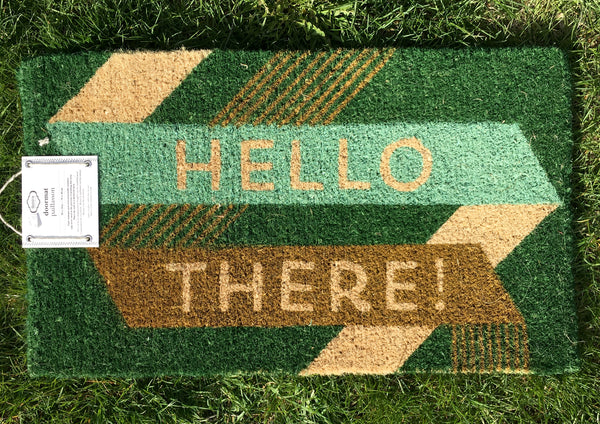 welcome mat, home decor in tarrytown, sleepy hollow, pretty funny vintage, home shopping