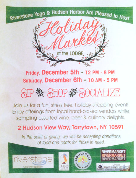 holiday market at the lodge on the hudson river in tarrytown, ny