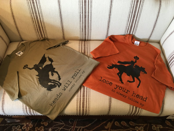 sleepy hollow, tarrytown, pretty funny vintage, headless horseman
