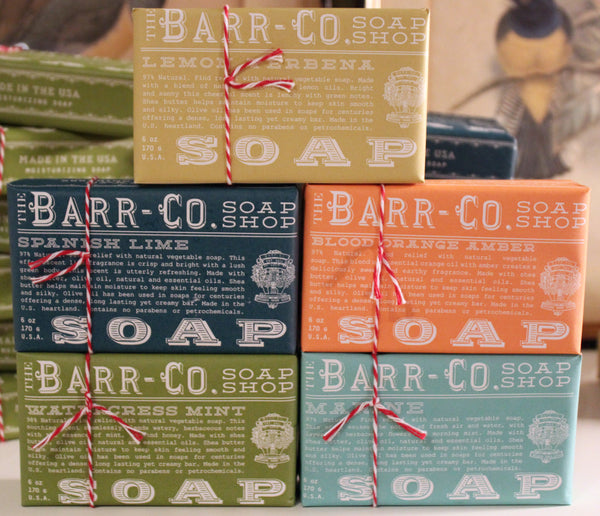 barr-co soaps, soaps, pretty funny vintage, gifts, sleepy hollow, tarrytown