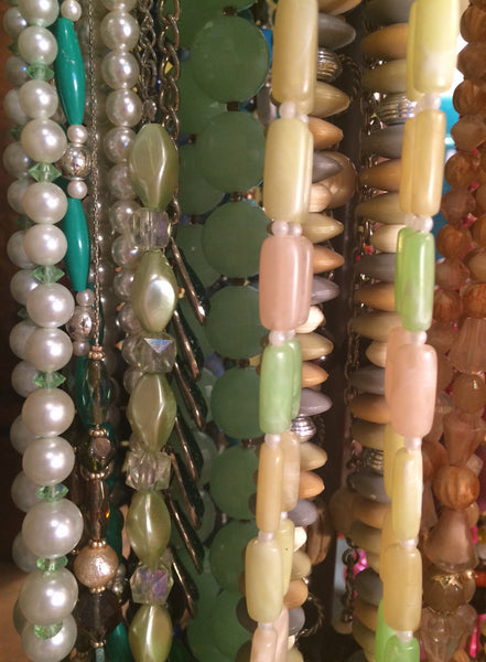 vintage costume necklace jewelry at pretty funny vintage in tarrytown ny
