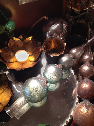 votive holders and beautiful tree toppers make great gifts for them or you