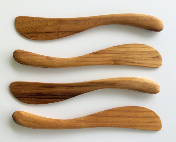 Wooden Utensils - Wooden Spreader Set