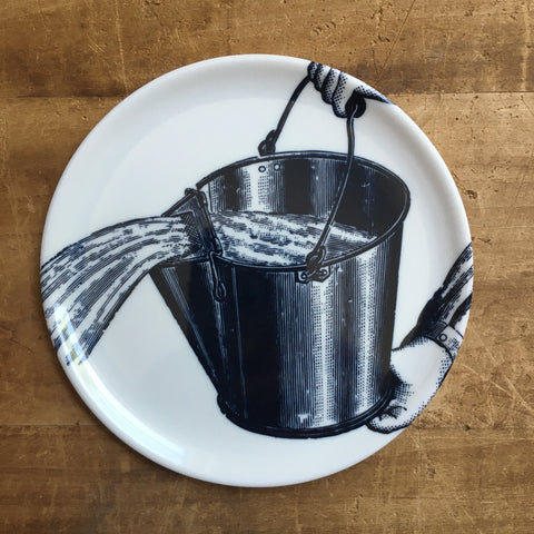 Pouring Bucket Melamine Coaster