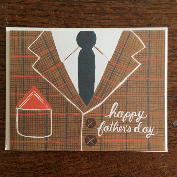 Tweed Suit Father's Day Card