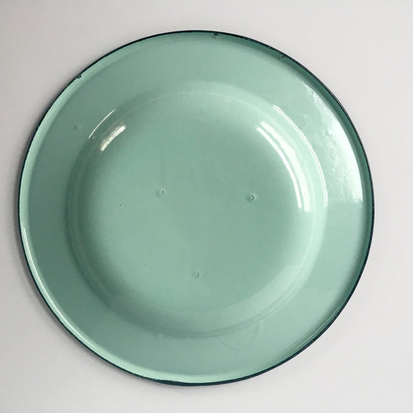 Enamelware Appetizer Plate set of 4