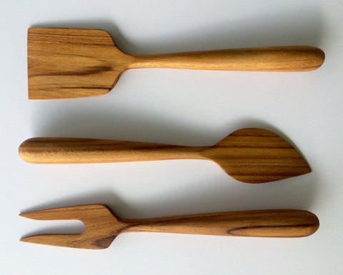 Wooden Cheese Utensils