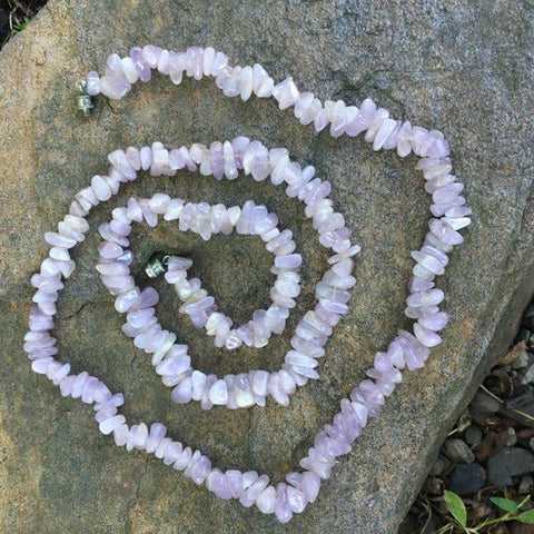 S228 - Quartz Lavender Necklace