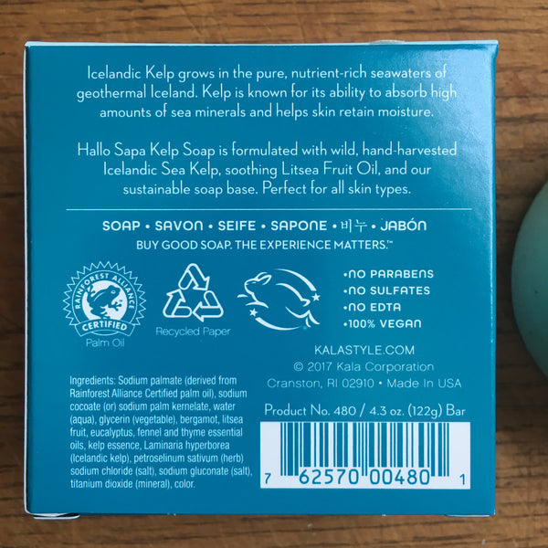 Icelandic Kelp Hydrating Soap