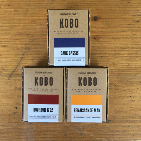 3oz Scented Soy Candles by KOBO