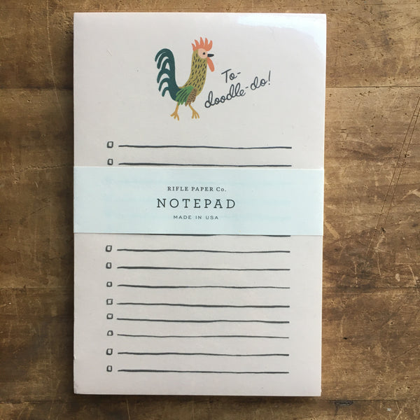 Cute and Useful List Notepads by Rifle