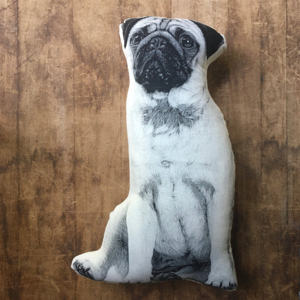 Pug Decorative Printed Pillow